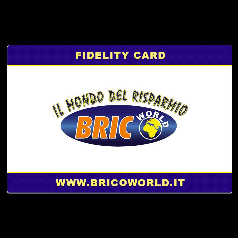 bricoworld carta fidelta