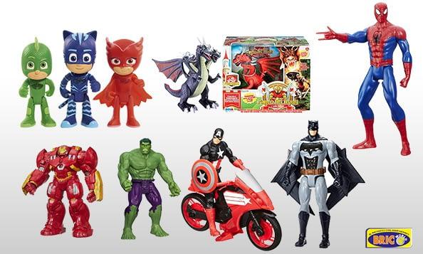 reparto giocattoli bricoworld